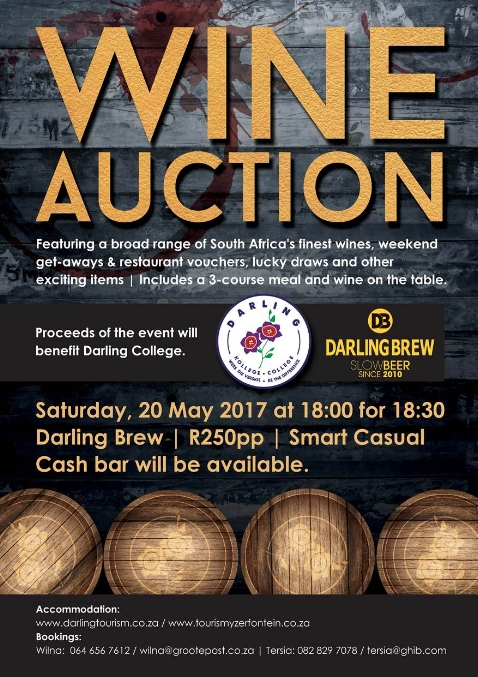 Darling College Wine Auction