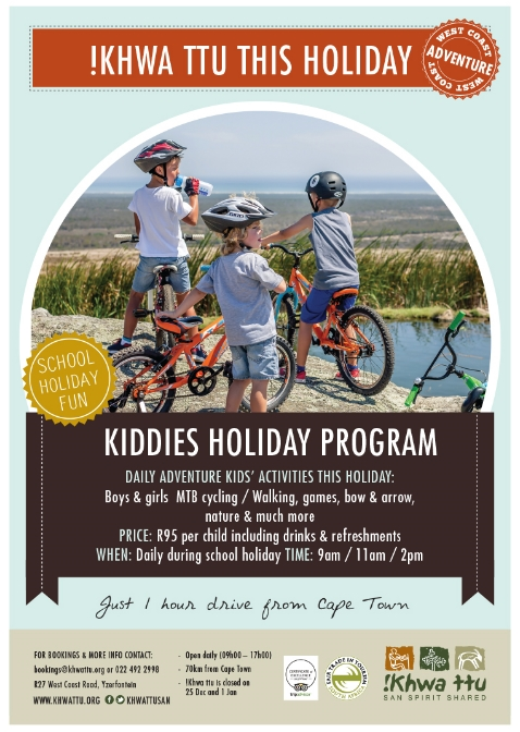 Kiddies Holiday Program at !Khwa ttu