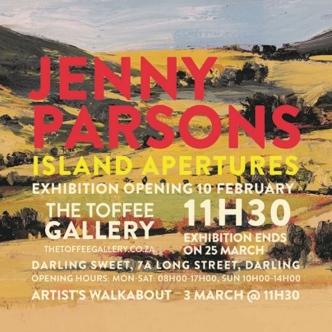 Jenny Parsons Artist's Walkabout