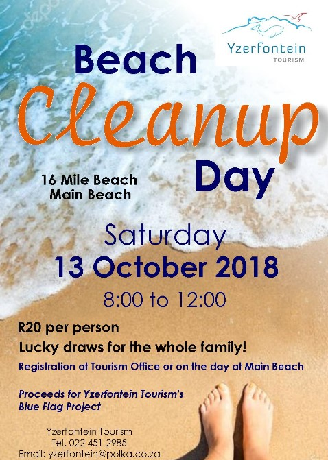 Yzerfontein Beach Clean Up Day