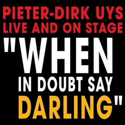 When in doubt, say darling