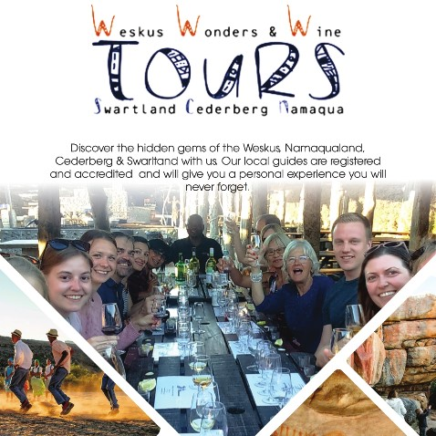 Weskus Wonder & Wine Tours - July to September
